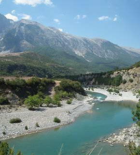 Albania river