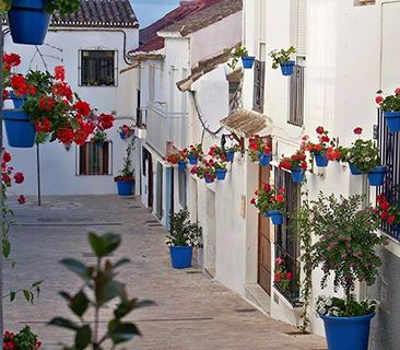 Andalusia white village