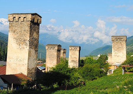 Georgia towers