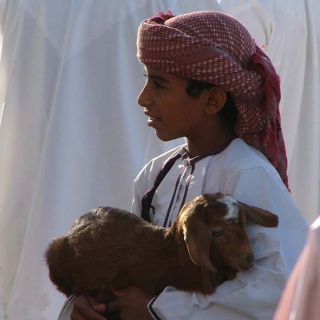 Oman - boy with kid