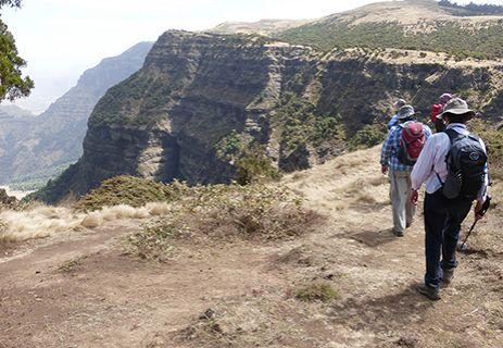Ethiopia walk