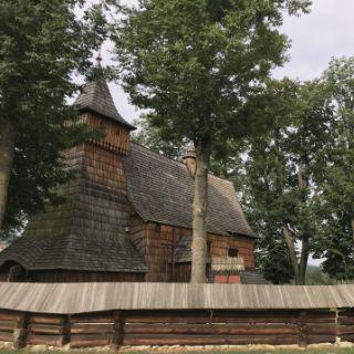 Poland Debno church