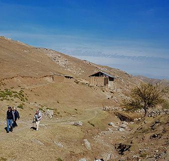 Uzbekistan mountain walk