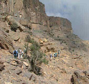 Oman walk