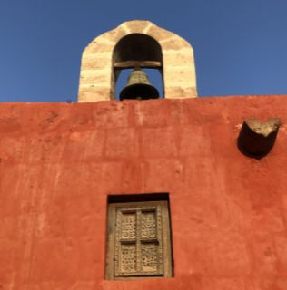 Peru bell tower