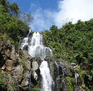 Reunion waterfall