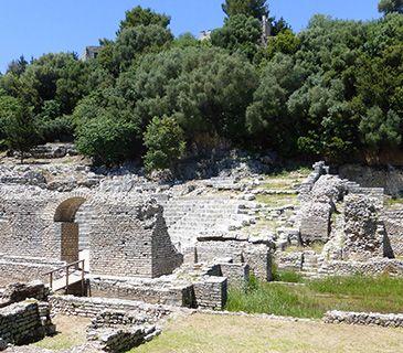 Corfu Butrint theatre
