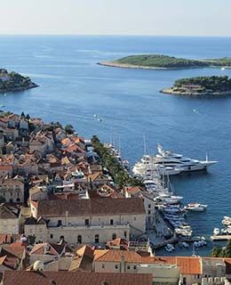 Croatia Hvar view