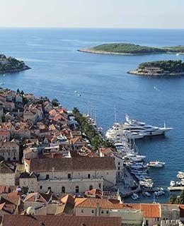 Croatia Hvar view