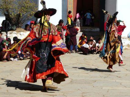 Bhutan - Dancer