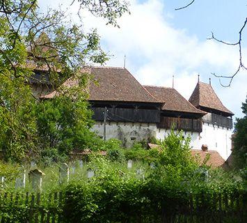 Romania Viscri church