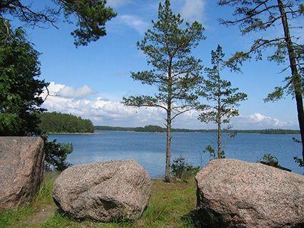 Savonlinna lake