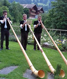 Gstaad alphorns