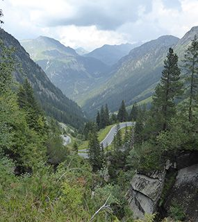 Austria Montafon drive