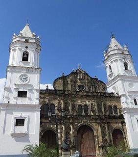 Panama - church