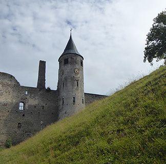 Estonia Haapsalu castle
