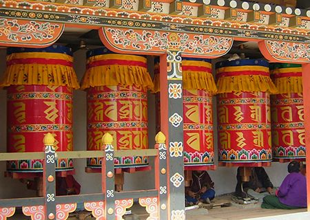 Bhutan drums