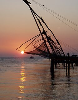 Kerala - fishing nets