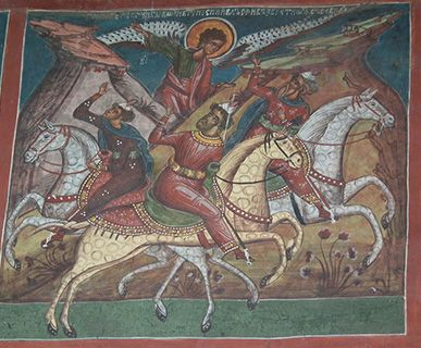 Romania fresco
