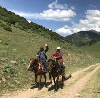 Kyrgyzstan horsemen