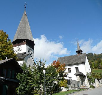 Gstaad church