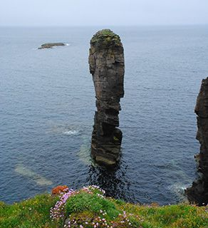 Orkney Yesnaby sea stack