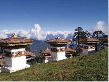 Bhutan - Chortens